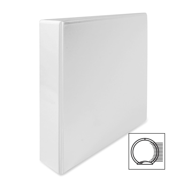 ACCO A-4 White Ring Binder 40823 WLJ40823