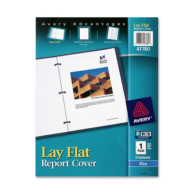 Avery Lay Flat Report Cover 47780 AVE47780