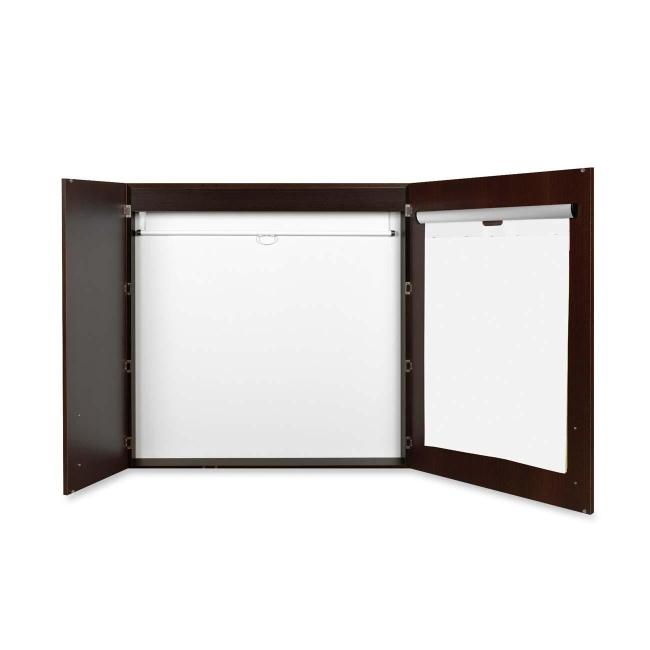 MasterVision Ebony Conference Cabinet CAB01010143 BVCCAB01010143