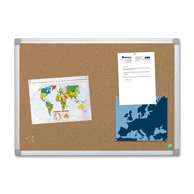 MasterVision Earth-it! Bulletin Board CA271790 BVCCA271790