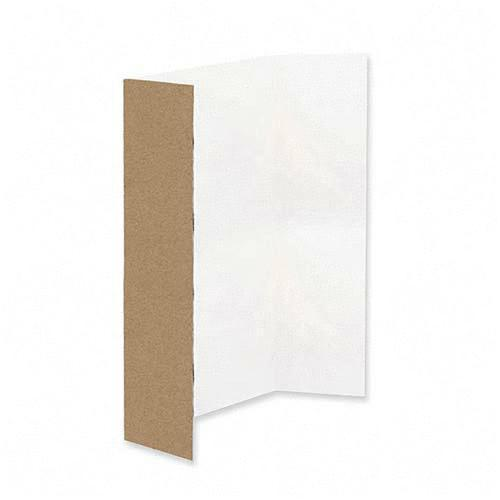 Classroom Keepers Spotlight White Headers Corrugated Presentation Board 37634 PAC37634