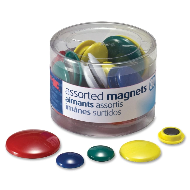 OIC Circle Handy Magnets 92500 OIC92500