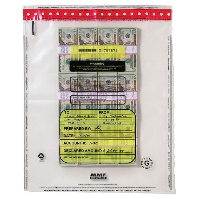 MMF Tamper-Evident Bundle Bag 2362035N20 MMF2362035N20