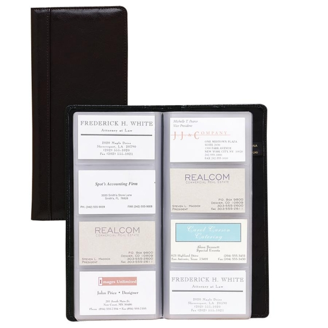 Samsill Regal Leather Business Card Holder 81240 SAM81240