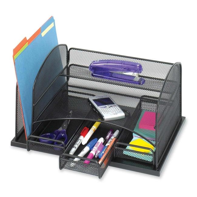 Safco Desktop Organizer 3252BL SAF3252BL