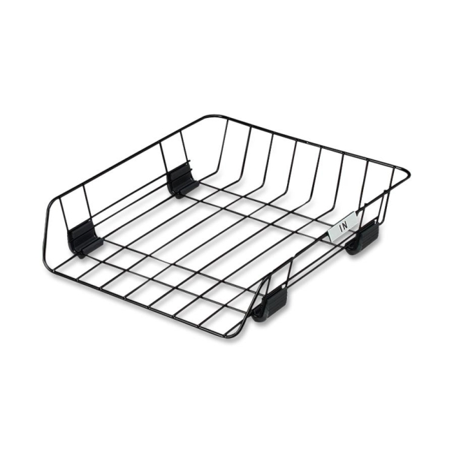 Fellowes Self Stacking Wire Desk Tray 66112 FEL66112