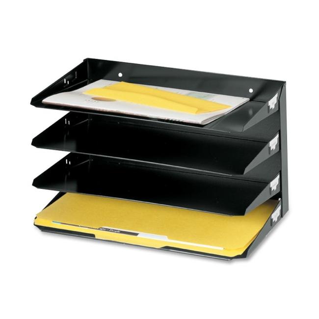 MMF Steelmaster Horizontal Desktop File Organizer 2644HLBK MMF2644HLBK