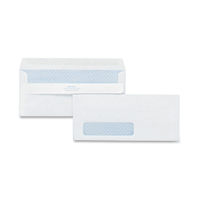 Quality Park Redi-Seal Security Window Envelope 21418 QUA21418