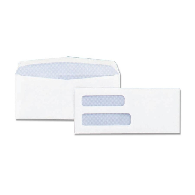 Quality Park Double Window Envelope 24524 QUA24524