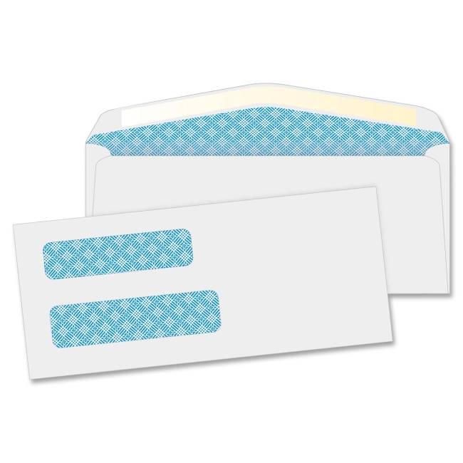 Quality Park Double Window Envelopes 24532 QUA24532