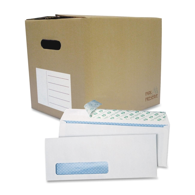 Quality Park Redi Strip Single Window Business Envelope 69222B QUA69222B