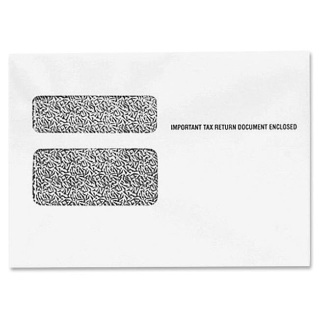 TOPS W-2 Form Double Window Envelope 2219R TOP2219R