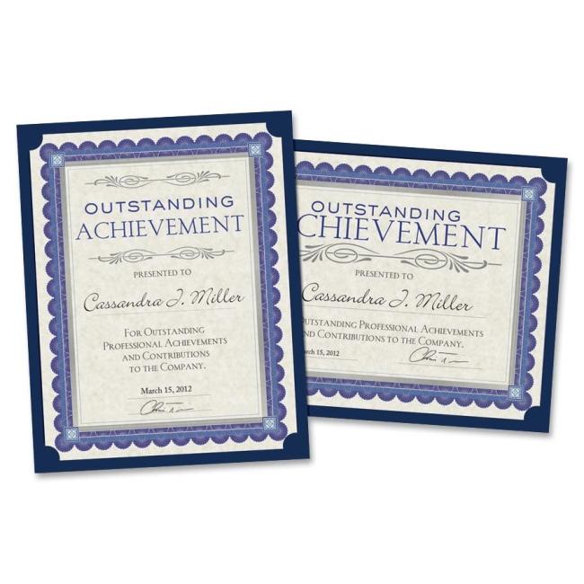 Southworth Company, Agawam, MA Linen Certificate Holder PF8 SOUPF8