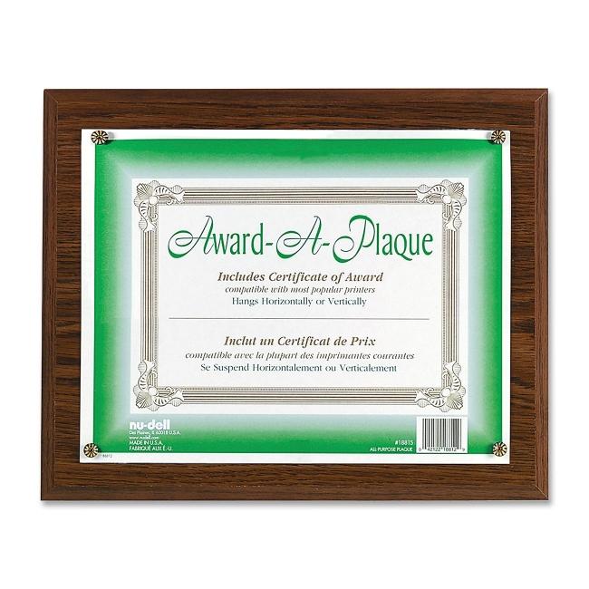 Nu-Dell Award-A-Plaque 18811M NUD18811M