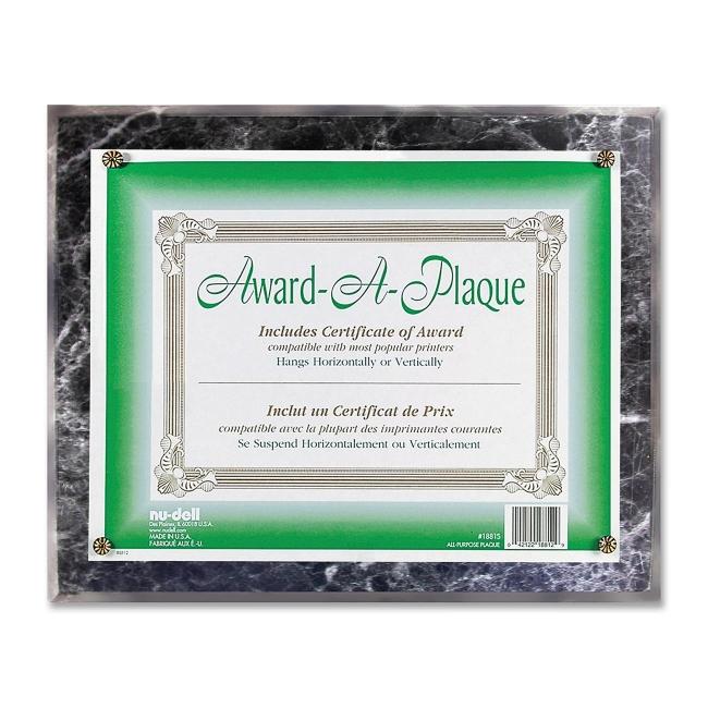 Nu-Dell Award-A-Plaque 18815M NUD18815M