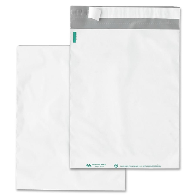 Quality Park Poly Envelopes With Perforation 46200 QUA46200