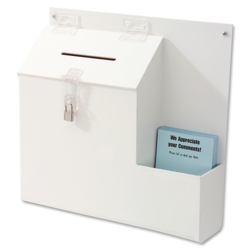 Deflect-o Suggestion Box with Lock 79803 DEF79803