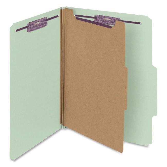 Smead SafeSHIELD Colored Classification Folder 13776 SMD13776