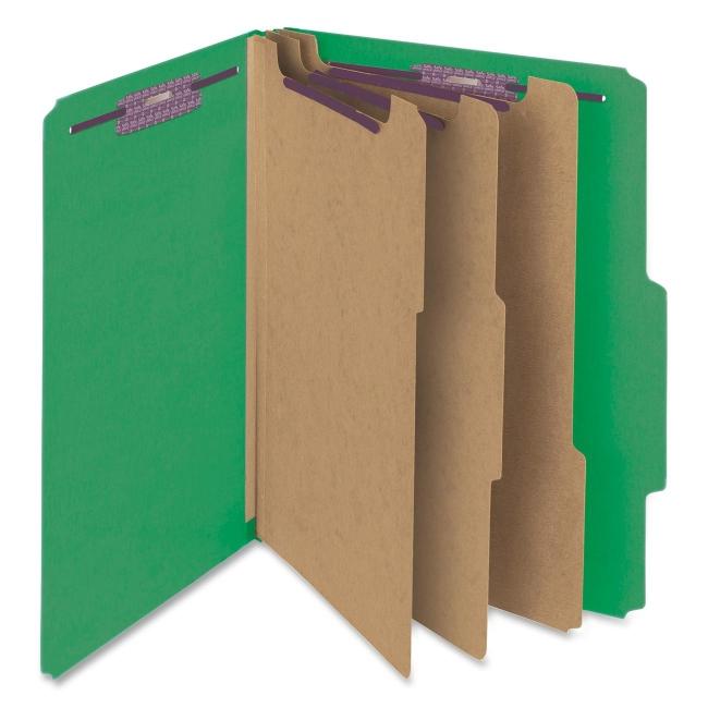Smead SafeSHIELD Top Tab Classification Folder 14097 SMD14097