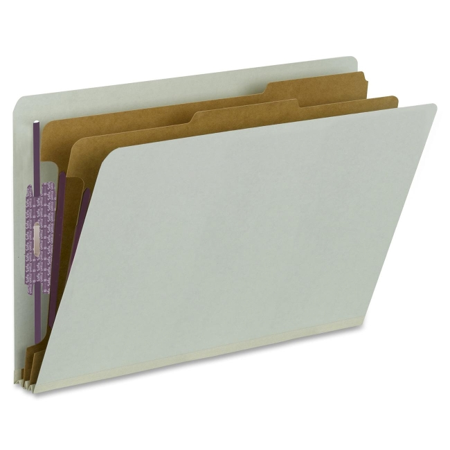 Smead End-Tab Classification Folder 29810 SMD29810