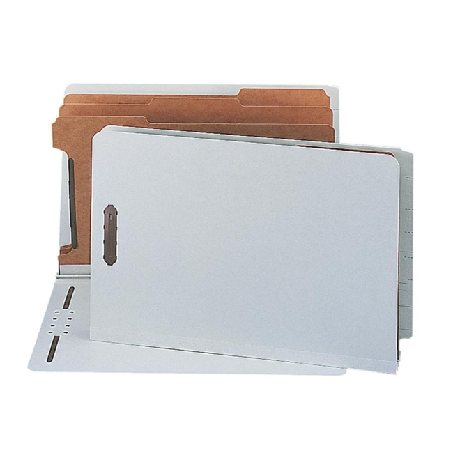 Smead End Tab Classification Folder with Divider 29820 SMD29820