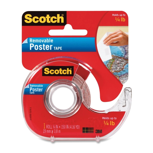 3M Scotch Removable Poster Tape 109 MMM109