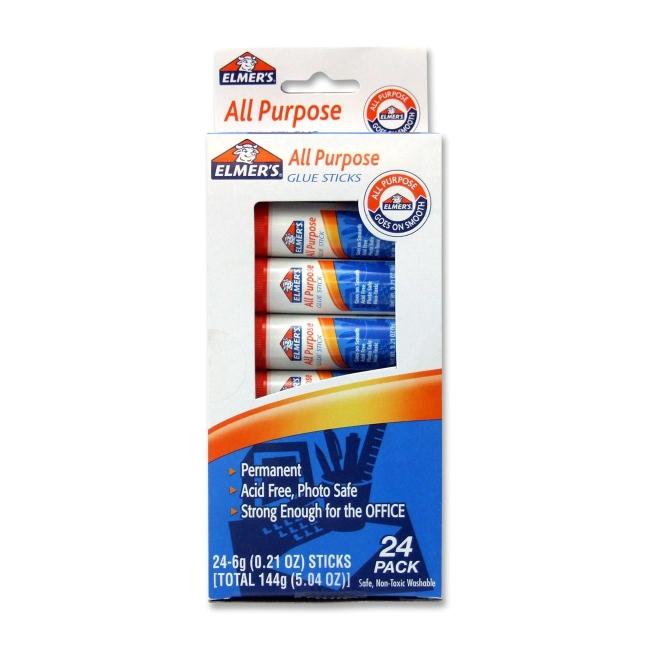 Elmer's All-Purpose Washable Glue Stick E553 EPIE553
