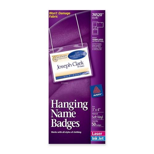 Avery Neck Style Name Badge Kit 74520 AVE74520