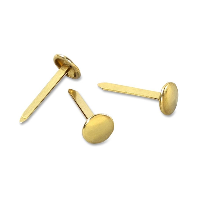 ACCO Solid Brass Round Head Fasteners 71504 ACC71504 A7071504A