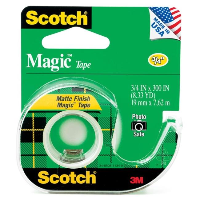 3M Magic Tape with Handheld Dispenser 105 MMM105