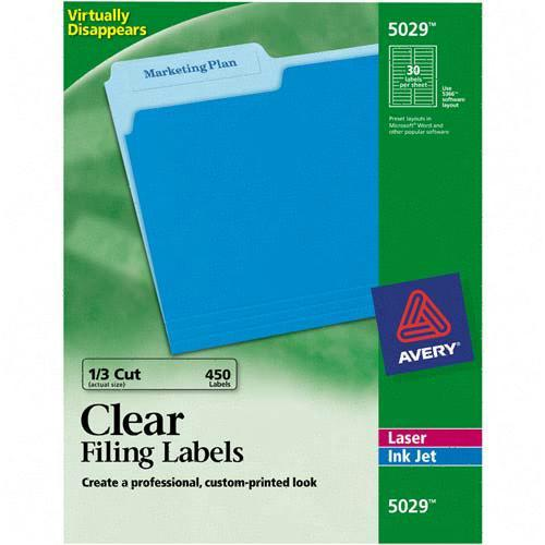 Avery Filing Label 5029 AVE5029