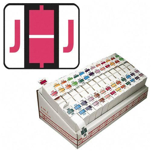 Smead Bar Style Color Coded Alphabetic Label 67080 SMD67080
