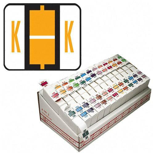 Smead Bar Style Color Coded Alphabetic Label 67081 SMD67081