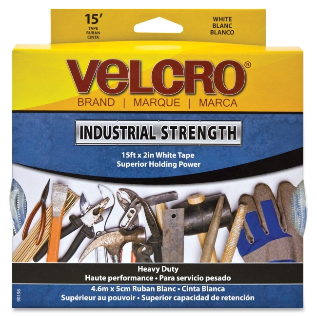 Velcro Industrial Strength Hook and Loop Tape 90198 VEK90198