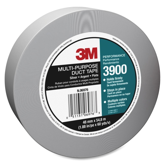 3M Silver Duct Tape 3900 MMM3900
