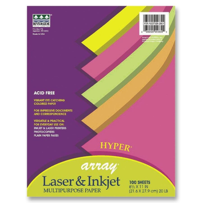 Classroom Keepers Array Bond Paper Assortment 101135 PAC101135