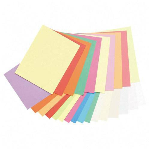 Classroom Keepers Array Pastel/Bright Colors Jumbo Card Stock 101195 PAC101195