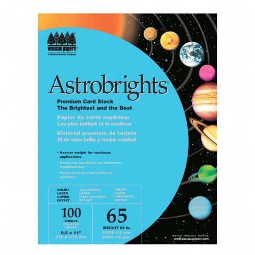 Silhouette Astrobrights Card Stock Paper 22721 WAU22721