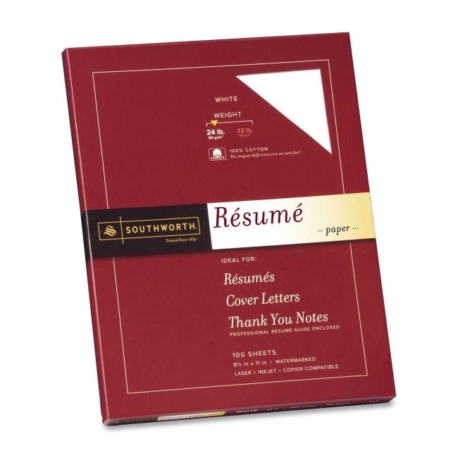Southworth Company, Agawam, MA Resume Paper R14CF SOUR14CF