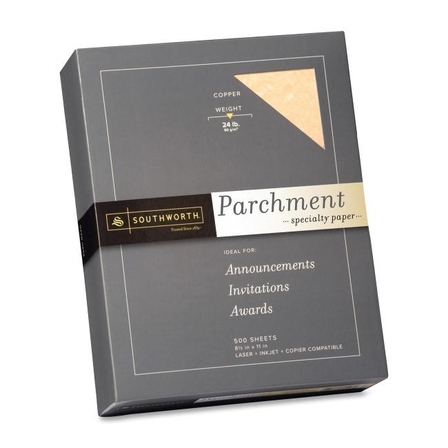 Southworth Company, Agawam, MA Parchment Specialty Paper 894C SOU894C
