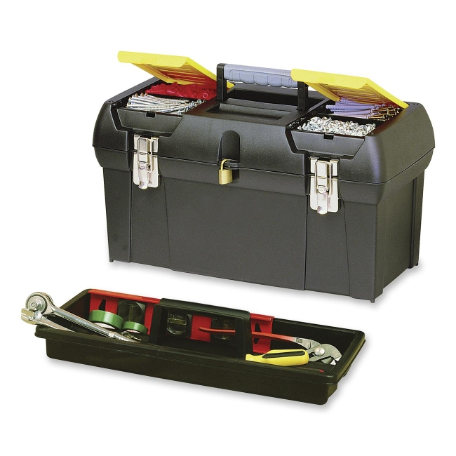 The Stanley Work Tool-Box with Tray 019151M BOS019151M