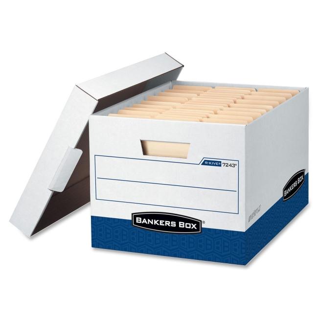 Fellowes R-Kive Storage Box 07243 FEL07243