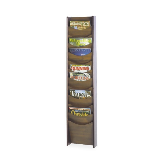 Safco 12 Pocket Wall Mount Literature Display 4331MH SAF4331MH