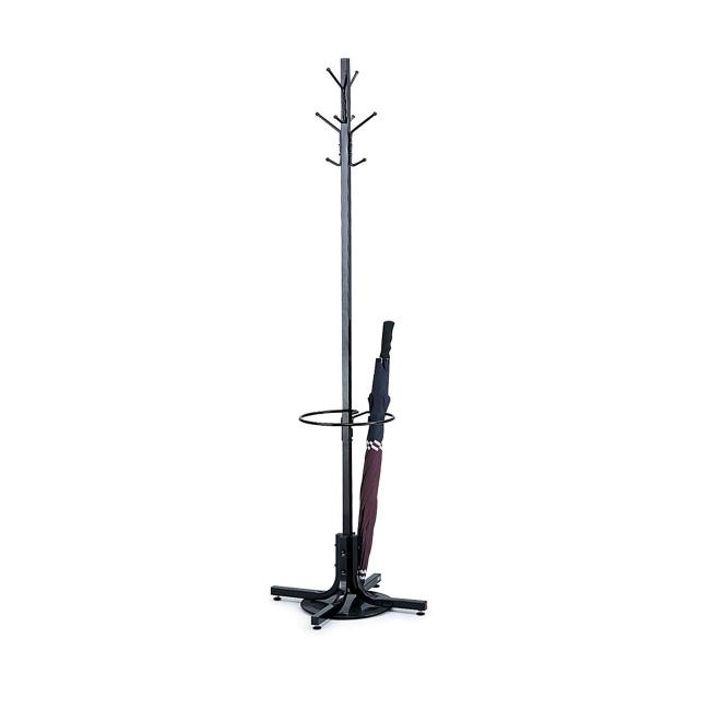 Safco Freestanding Costumer with Umbrella Stand 4168BL SAF4168BL
