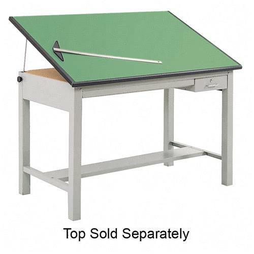 Safco Precision Drafting Table Base 3962GR SAF3962GR