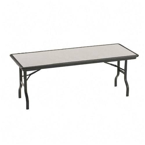 Iceberg Indestruc Table Rectangle Folding Table 65127 ICE65127