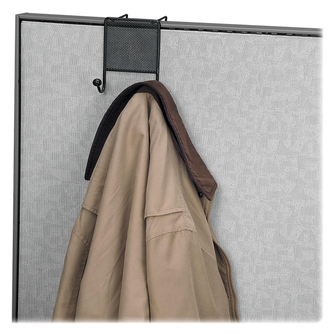 Fellowes Mesh Partition Additions Double Coat Hook 75903 FEL75903