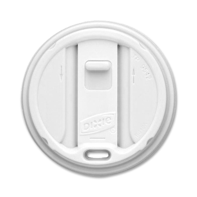 Dixie Smart Top Reclosable Hot Cup Lid TP9542 DXETP9542