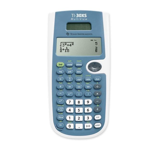 Texas Instruments MultiView Scientific Calculator TI30XSMV TEXTI30XSMV TI-30XS
