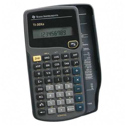 Texas Instruments Scientific Calculator TI30XA TEXTI30XA